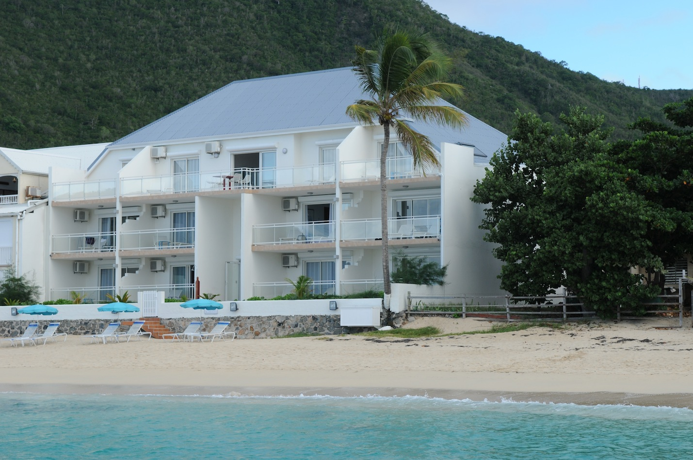 Beautiful Resort Hotel on the sea located on Grand Case St Martin